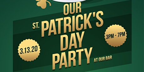 Our St. Patty's DAY Party tickets