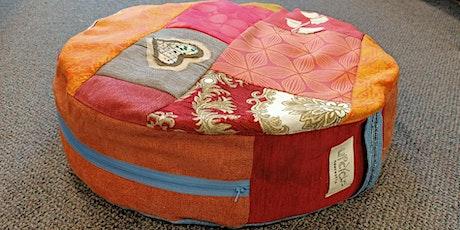 Upcycled Floor/Meditation Cushion workshop tickets