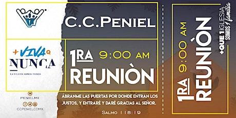 1ra Reunión Peniel. entradas