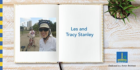 Meet Les and Tracy Stanley - Bulimba Library tickets