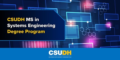 Info Session: MS in Systems Engineering at CSUDH | Webinar (4/26/21) tickets
