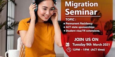Migration Guru - Webinar for ACT State Sponsorship tickets