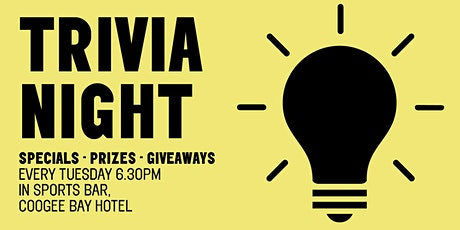 Trivia Night | Coogee Bay Hotel tickets