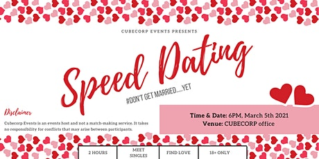 A speed dating event tickets