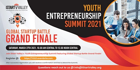 Youth Entrepreneurship Summit 2021 billets