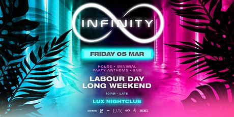 Infinity Club - Friday 5 March tickets