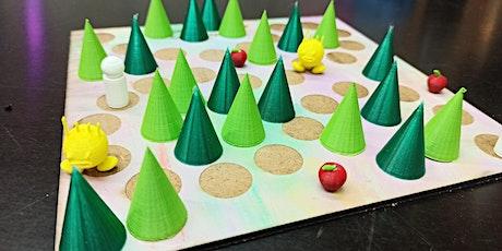 FabLabKids@home: Spielefabrik - designe Dein eigenes Brettspiel (8 - 15 J.) Tickets