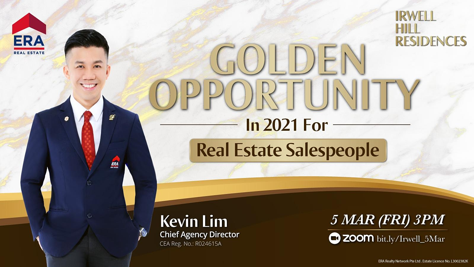 Golden Opportunity In 2021 For Real Estate Salespeople (Irwell Hill)