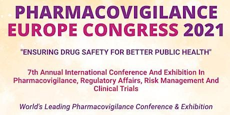 Pharmacovigilance Europe 2021 tickets