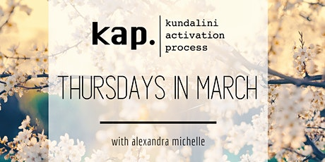 Kundalini Activation Process (KAP) : with Alexandra tickets