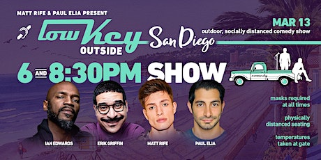 Lowkey Outside Comedy San Diego 8pm! tickets
