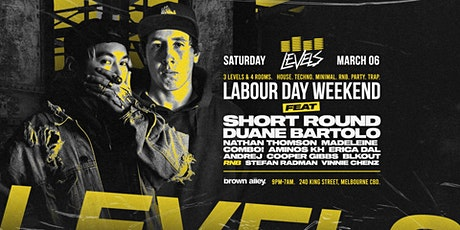 LEVELS - LABOUR DAY WEEKEND tickets
