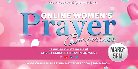 Online Woman's Prayer Conference tickets