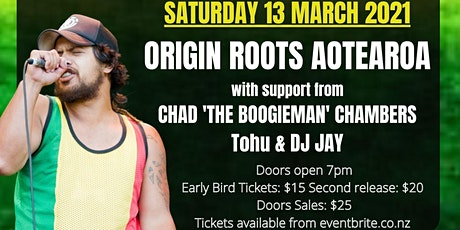 Origin Roots Aotearoa tickets