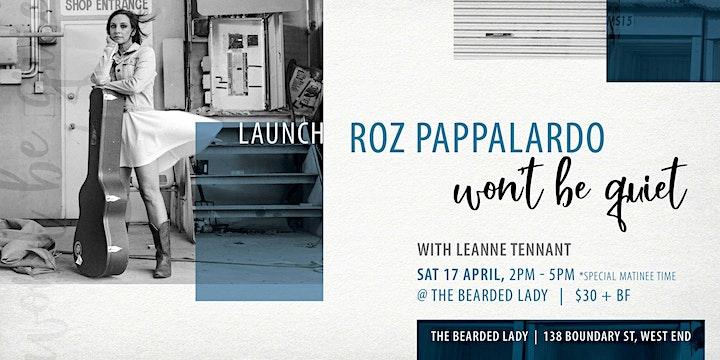 Roz Pappalardo 'Won't Be Quiet' Launch image