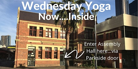 Wednesday Yoga @ Boyd Community Hub (Free/Donation) tickets