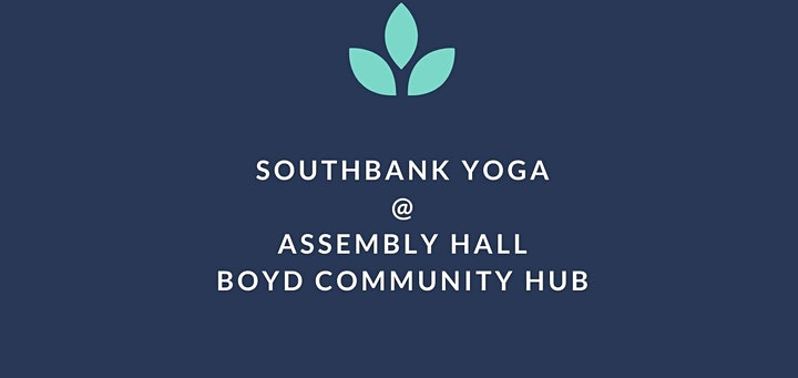 Wednesday Yoga @ Boyd Community Hub (Free/Donation) image