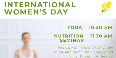 YOGA -Better Life and Nutrition Workshop tickets