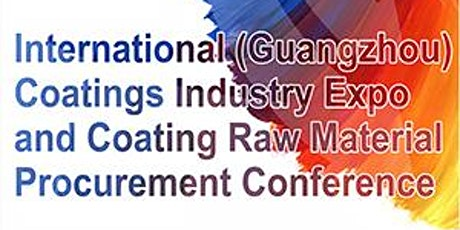 International (Guangzhou) Coatings Industry Expo tickets