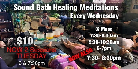 Sound Bath Healing Meditation tickets