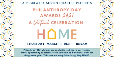 Philanthropy Day 2021 Awards, A Virtual Celebration! tickets