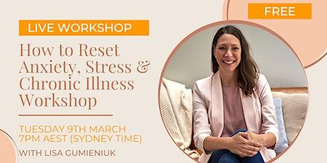 Wellness Workshop -  A Wholistic MindBody Reset Introduction tickets