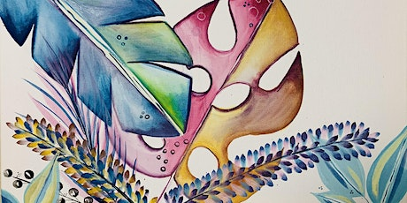 Relax with Water colour Leaves tickets