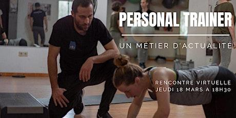Métier de Personal Trainer entradas