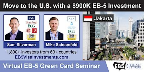 U.S. Green Card Virtual Seminar – Jakarta, Indonesia tickets