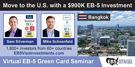 U.S. Green Card Virtual Seminar – Bangkok, Thailand tickets