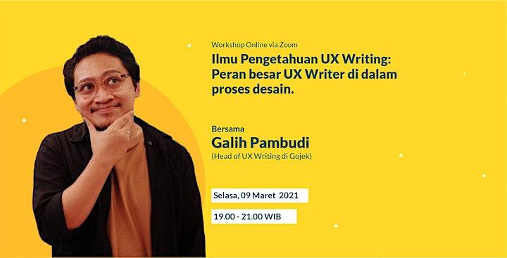 Ilmu Pengetahuan UX Writing: Peran besar UX Writer di dalam proses desain image