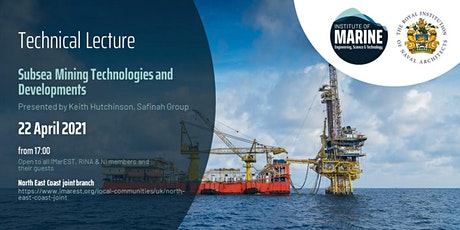 WEBINAR: Subsea Mining Technologies and Developments tickets