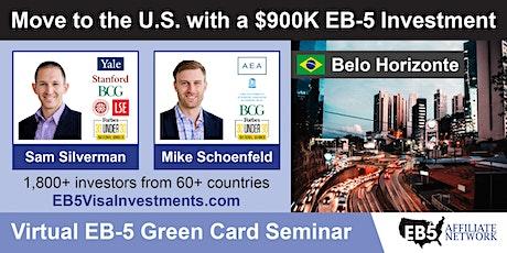 U.S. Green Card Virtual Seminar – Belo Horizonte, Brazil ingressos