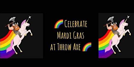 Mardi Gras Axe Throwing tickets
