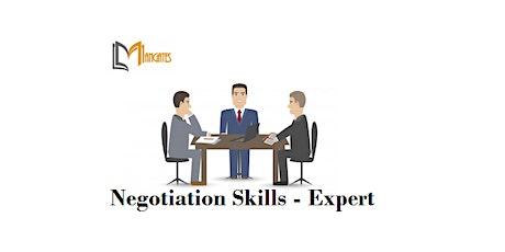 Negotiation Skills - Expert 1 Day Training in Dunedin tickets