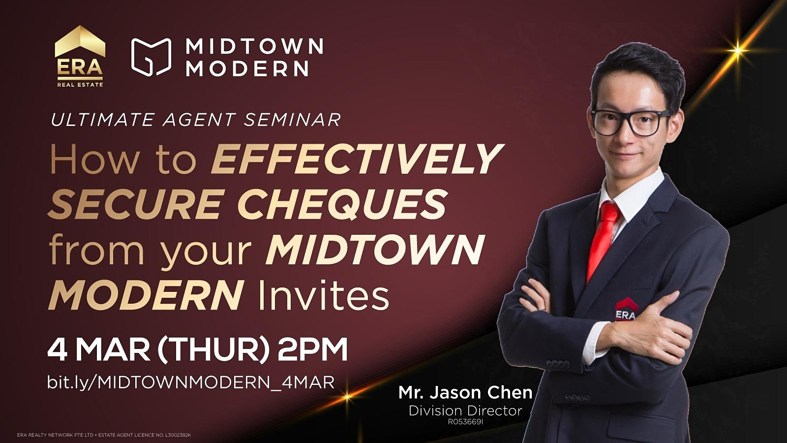 How to Effectively Secure Cheques from your Midtown Modern Invites