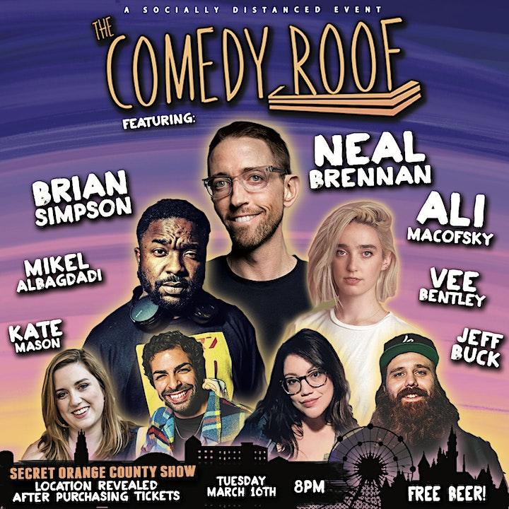 The Comedy Roof: Secret Orange County Show! image