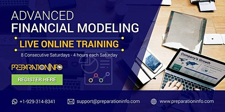 Attend Advanced Financial Modeling Instructor-Led Live Online Training tickets