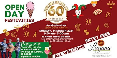 Laguna Open Day Festivities - 60th Anniversary Celebration tickets