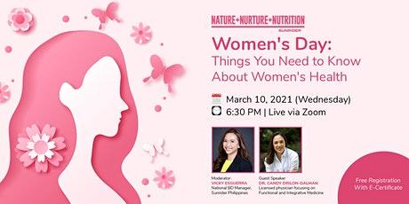 Women's Day: Things You Need to Know About Women's Health tickets