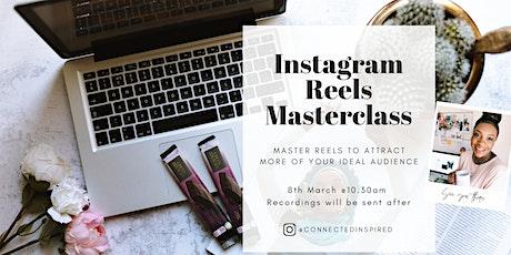 Instagram Reels Masterclass tickets