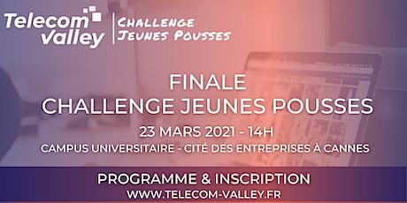 Finale Challenge Jeunes Pousses 23 Mars 2021 billets