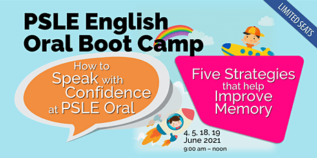 PSLE Oral Boot Camp 2021 tickets