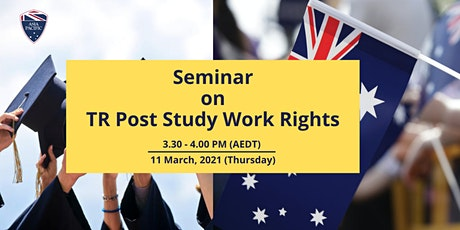 Seminar on PY and TR Post-Study Work Rights tickets
