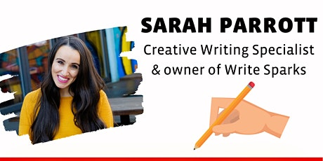 UNLOCK THE ARTS: Chat with creative writing specialist SARAH PARROTT tickets