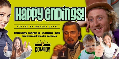 Happy Endings - Presented by Top End Comedy tickets