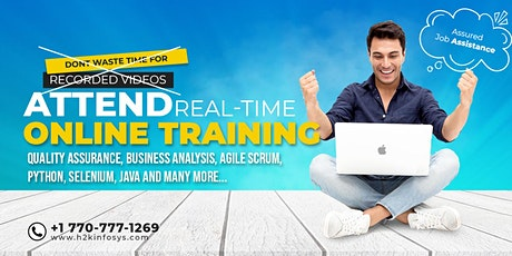 Artificial Intelligence Online Training tickets
