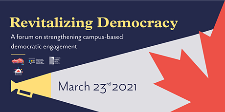 Revitalizing Democracy Forum tickets