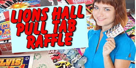 Lions Hall Pull Tab #19 tickets