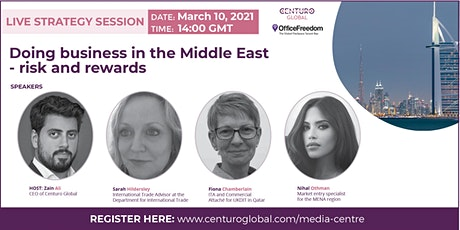Doing Business in the Middle East - Risk and Rewards tickets